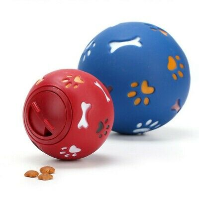 Dog Puzzle Toy Tough-Treat Ball Pet Fun Mental Food Dispenser Interactive USA