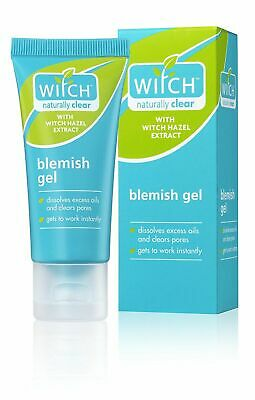 Witch Naturally Clear Blemish Gel 1x35ml Hazel Skin Care Oil Pores Facial