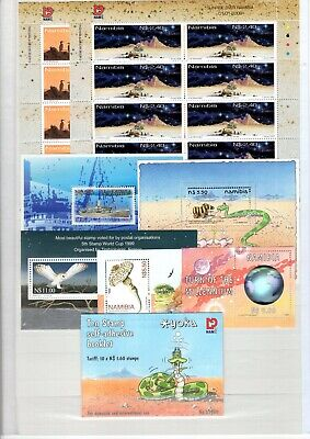 A106567/ Namibie / Namibia / Lot 1999 - 2000 Neuf ** / Mnh Complete