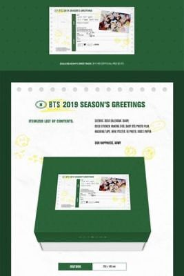 BTS 2019 SEASON'S GREETINGS FULLbox Whit BABY BTS PHOTO FILM JUNGKOOK +Free TR