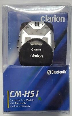 Clarion CM-HS1 Car Hands Free Module with Bluetooth Wirelesss Technology NOS#