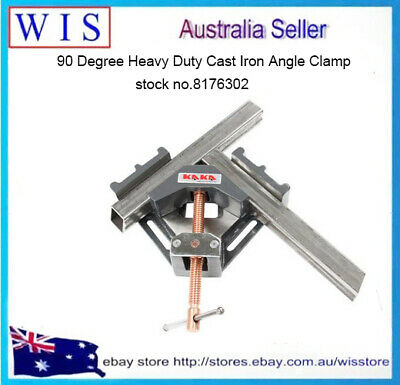 Angle Clamp, 90 Degree Heavy Duty Cast Iron Angle Clamp-AC 100-8176302