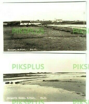Postcards South Uist Island Outer Hebrides Scotland Real Photos 1950S Trimmed