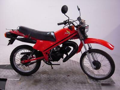 1980 Honda MT50 Unregistered Jap Import Barn Find Classic Restoration Project