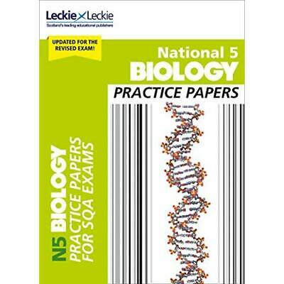 National 5 Biology Practice­ Exam Papers (Practice Pape - Paperback / softback N