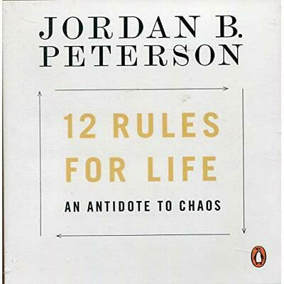 12 Rules for Life: An Antidote to Chaos - CD-Audio NEW Peterson, Jorda 07/06/201