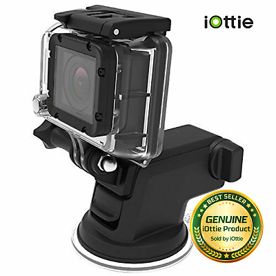 iOttie Easy One Touch GoPro Cradle for GoPro Hero 4, Session + More - Black