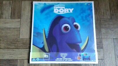 Finding Dory DVD BLU-RAY Big Sleeve Edition - Brand New Sealed