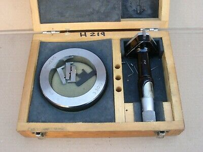 """Fowler Bowers 3-4"""" Bore Gauge With Setting Ring, Spares Or Repair"""