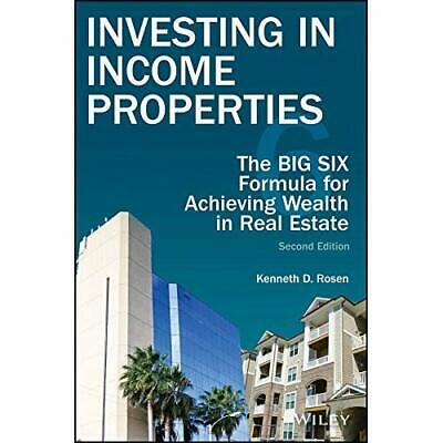 Investing in Income Properties, Second Edition: The Big - Hardcover NEW Rosen, K