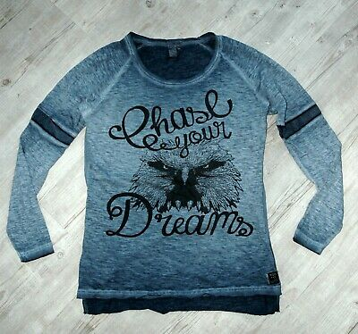 the best attitude 547e1 dadfc M.O.D. MIRACLE OF Denim Damen T-Shirt langarm * blau * Gr. M 38/40 * w. NEU