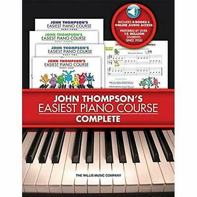 John Thompson's Easiest Piano Course - Complete [With 4 - Paperback NEW Thompson