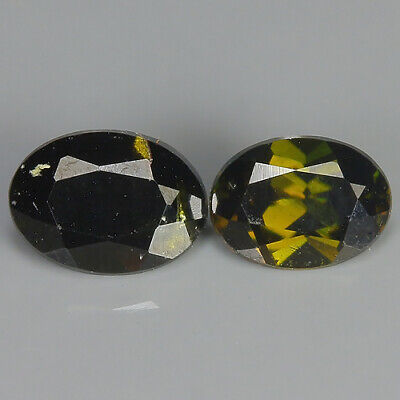 0.58 Ct Natural Unheated Greenish Yellow KORNERUPINE Oval Gem @ See Vide!
