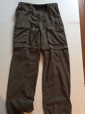 Boy Scouts of America Sz Classic Med Green Switchback convertible Uniform Pants