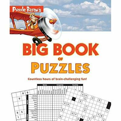 Puzzle Baron's Big Book of Puzzles: Countless Hours of - Paperback NEW Baron, P