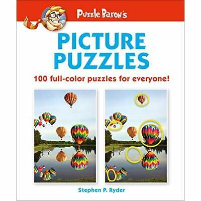 Puzzle Baron's Picture Puzzles: 100 All-Color Puzzles f - Paperback / softback N
