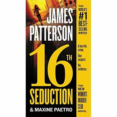 16th Seduction (Women's Murder Club) - Paperback NEW Patterson, Jame 27/03/2018