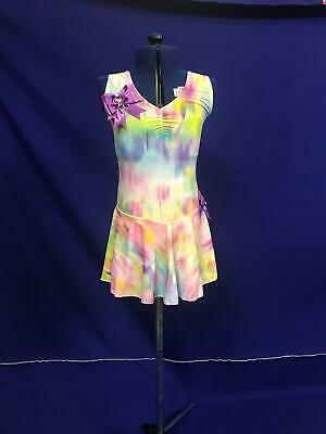 Competition Dancewear Size 3A 11-12 Yr Costume Freestyle Dance Show Festival B25