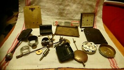 Miscellaneous Antique Clock Parts