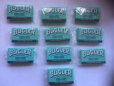 20 Bugler Cigarette Rolling Papers Booklets - 115 Ea. SEALED in 10 Double packs!