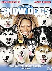NEW Snow Dogs DVD MOVIE Cuba Gooding Jr DISNEY'S SNOWDOGS MOVIE PART 1 2002