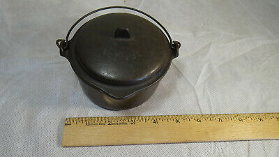Wagner Cast Iron Hot Pot 1363 Salesman Sample Wagner Ware Sidney O VERY NICE!