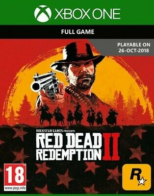 Red Dead Redemption 2 Xbox One Brand New Sealed