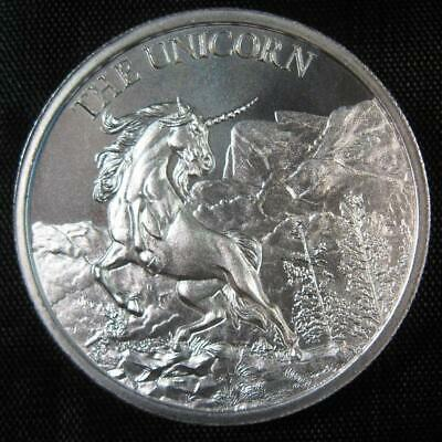 The Unicorn - 2 oz Silver High Relief Round of the Cryptozoology Collection