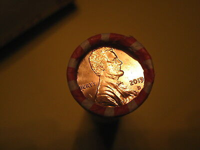 2019 D Lincoln Shield Penny Roll