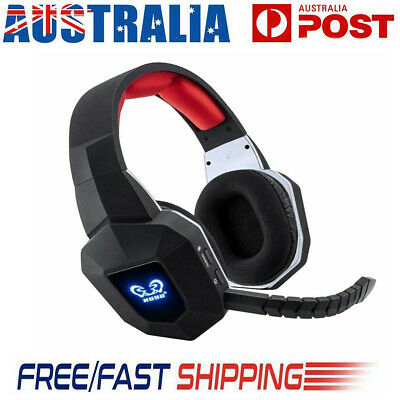 Wireless Headsets 7.1 Stereo Gaming Moving Coil Headphones with Mic for  PC PS4