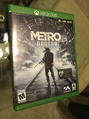 Metro Exodus Day One Edition (Microsoft Xbox One, 2019)