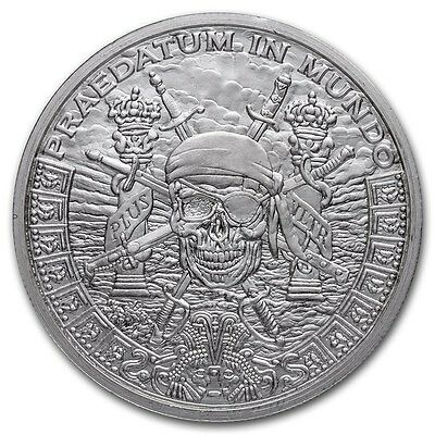 1~OZ ~PURE .999 SILVER ROUND ~ PIECES of EIGHT ~LIMITED~ $9.99  AUCTION ~ NO RES