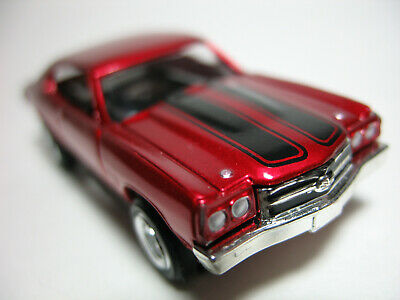 "MODEL MOTORING / Tjet 70' ""CHEVY CHEVELLE"" CANDY Red/Black stripe NOS BODY ONLY"