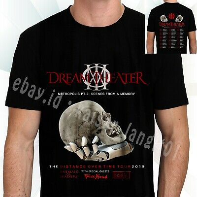 New Dream Theater The Distance Over Time Tour 2019 T-Shirt