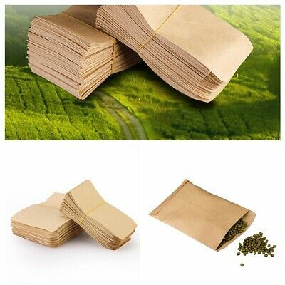 Hot 100 pcs Small Kraft Paper Candy Bag Vintage Wedding Vogue Paper Seed bag