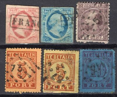 Old lot Netherlands, used, combine shipping 45