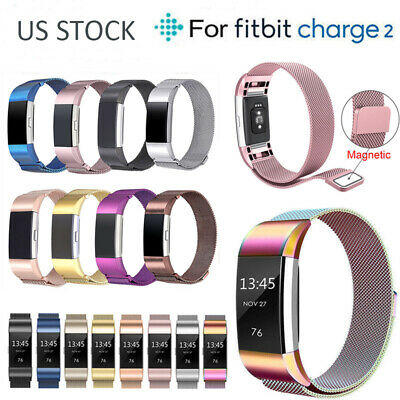 Stainless Steel Replacement Magnetic Spare Band Straps for Fitbit Alta / Alta HR