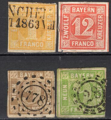 Old lot Germany Bavaria, M/U, MIXED CONDITION, combine shipping 56