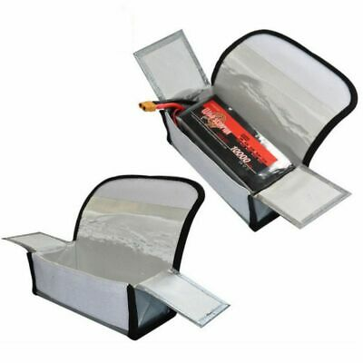 2/4PCS Set Fireproof Explosionproof Lipo Battery Safe Bag Lipo Battery Guard