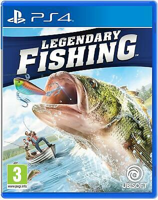 Legendary Fishing - PS4 Playstation 4 Angelspiel - NEU OVP