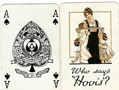 """Pack of VINTAGE """"Hovis Bread"""" Pack of Playing Cards"""