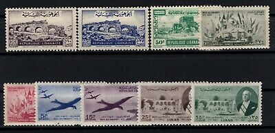 P106611/ Liban / Lebanon / Lot 1948 - 1950 Neuf * / Mh 101 €
