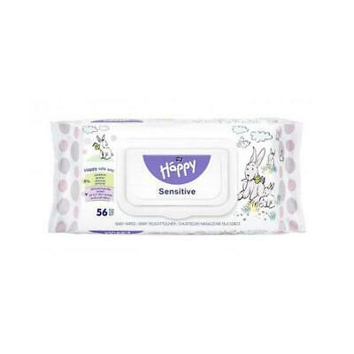 Bella Baby Happy Wet Wipes Sensitive 56 Pieces