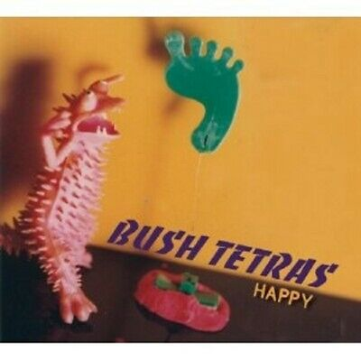 Bush Tetras - Happy  Cd  12 Tracks Alternative Rock Pop Neuf