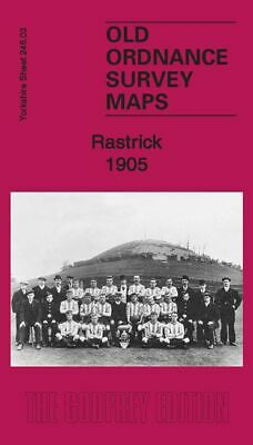 Old Ordnance Survey Map Rastrick 1905 Clough Lane Boothroyd Toothill Globe Inn
