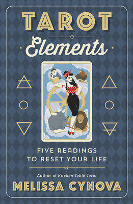 TAROT ELEMENTS Guide to Reading Cards Witch Craft Wicca Divination Book