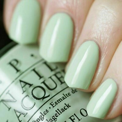 Opi Soft Shades Pastel This Cost Me A Mint Light Pale Green Nail