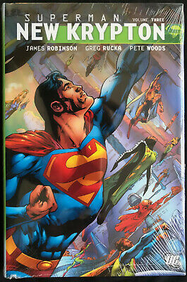 DC Comics Superman New Krypton Vol 3 Hardcover by James Robinson