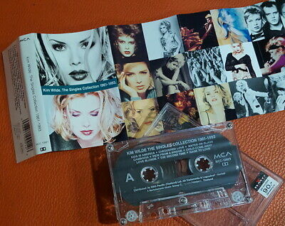 "Kim Wilde ""The Singles Collection 1981-1993"" Thai Org Cassette >>Rare<<"