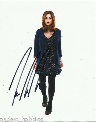 Doctor Who Jenna Louise-Coleman Autographed Signed 8x10 Photo COA